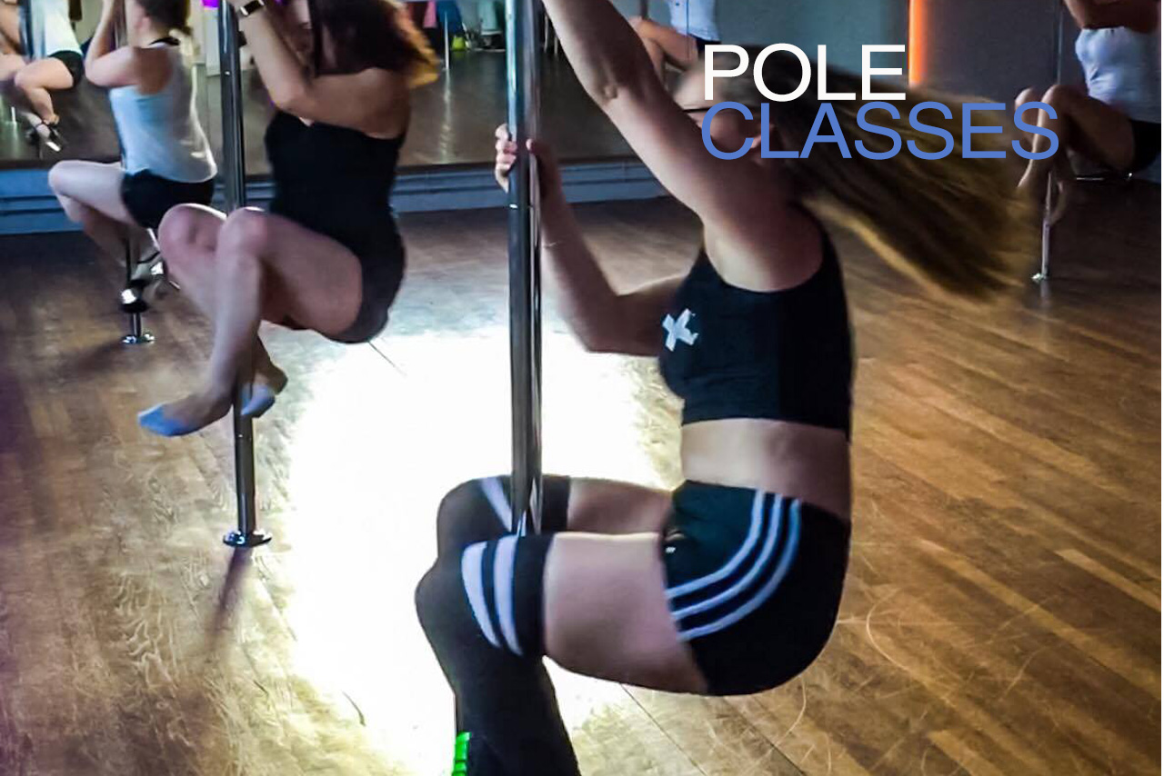 Defy Gravity - Pole classes